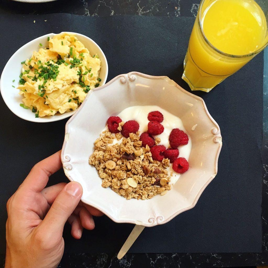 Hugo Madeira pequeno almoço